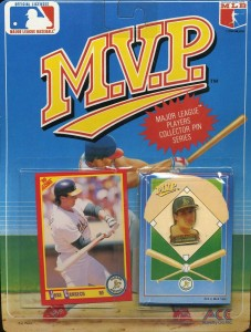 1990 Score #375 Ace Novelties MVP Collector's Pin