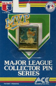 1992 Ace Novelties MVP Major League Collectors Pin