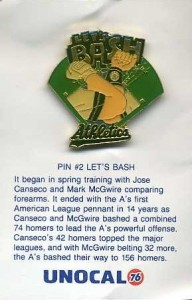 1989 Unocal Pin Let's Bash