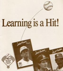 1990 Donruss Learning Series Folder