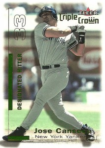 2001 Fleer Triple Crown Green /49