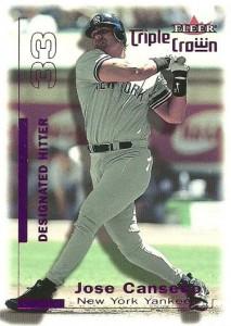 2001 Fleer Triple Crown Purple