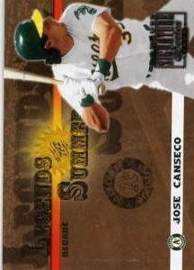 2003 Donruss Signature Legends of Summer Decade /10