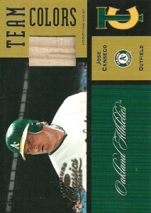 2004 Donruss Classics Team Colors Bat #11 /50