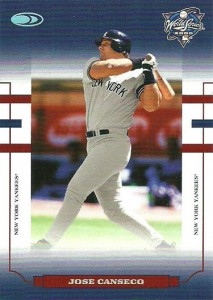 2004 Donruss World Series Blue HoloFoil 10 #26 Yanks /50