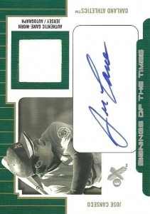 2004 E-X Signings of the Times Pewter Autograph Jersey /27