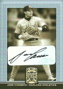 2005 Donruss Greats Signature Gold HoloFoil Autograph /45