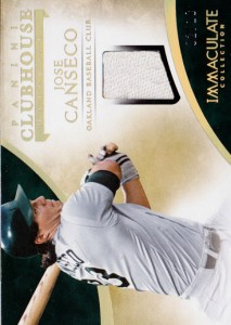 2014 Immaculate Clubhouse Material /10
