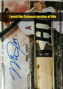 2016 Tier One Bat Barrel / Autograph 1/1