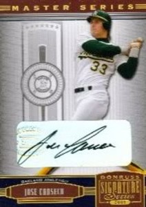 2005 Donruss Signature Autograph Gold /3