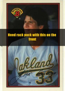 1989 Bowman Rack Pack