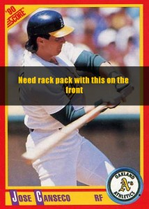 1990 Score Rack Pack
